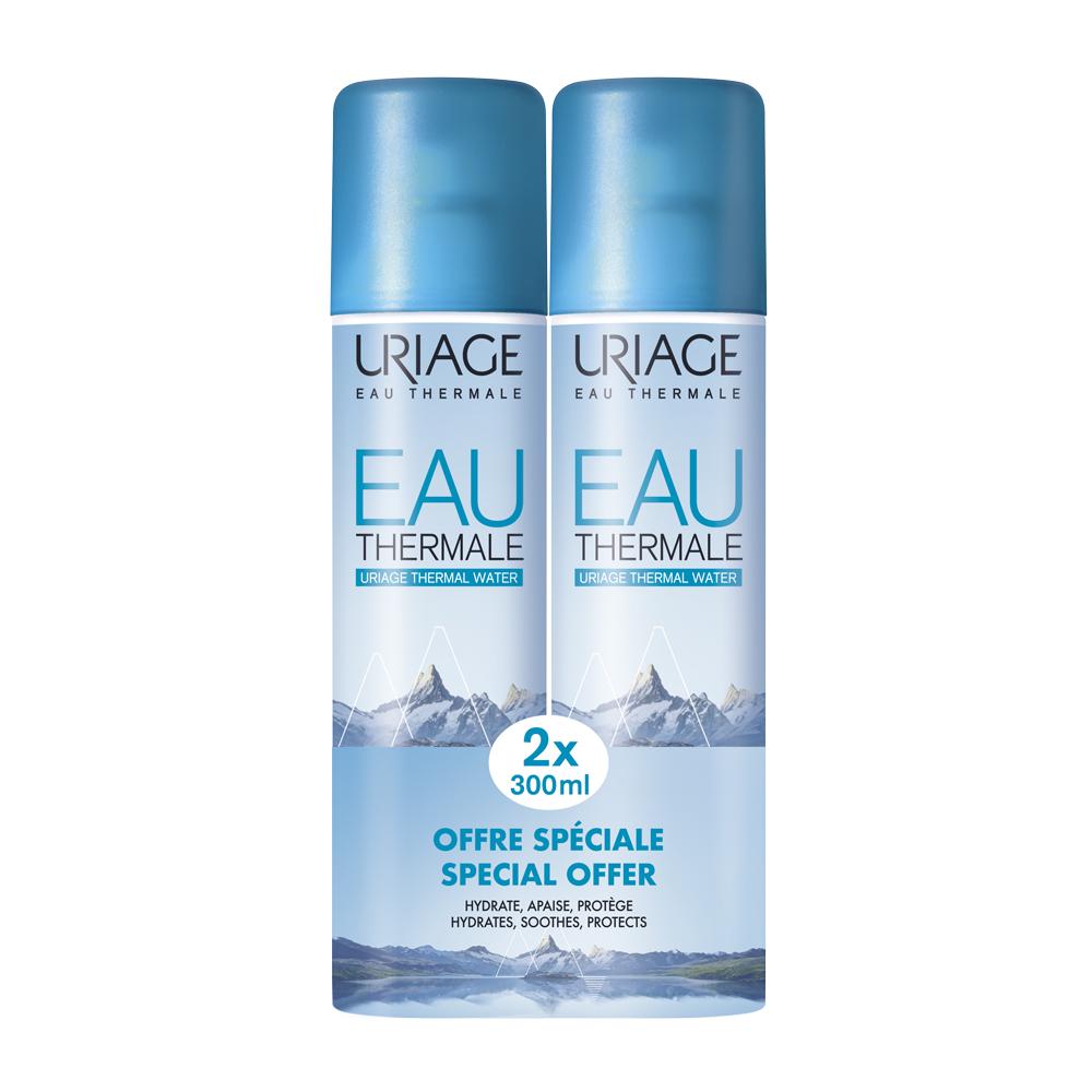 Купить Uriage Термальная вода Урьяж 2 х 300 мл (Uriage, Eau thermale), Франция