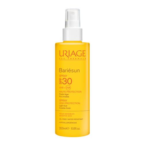 Uriage солнцезащитный водостойкий спрей SPF30 Барьесан 200 мл (Bariesun)