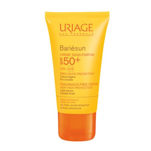 Uriage Солнцезащитный крем без ароматизаторов SPF50+ Барьесан 50 мл (Uriage, Bariesun) урьяж барьесан spf 50