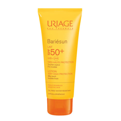 Uriage Солнцезащитное молочко для лица и тела SPF50+ Барьесан 100 мл (Uriage, Bariesun) урьяж барьесан spf 50