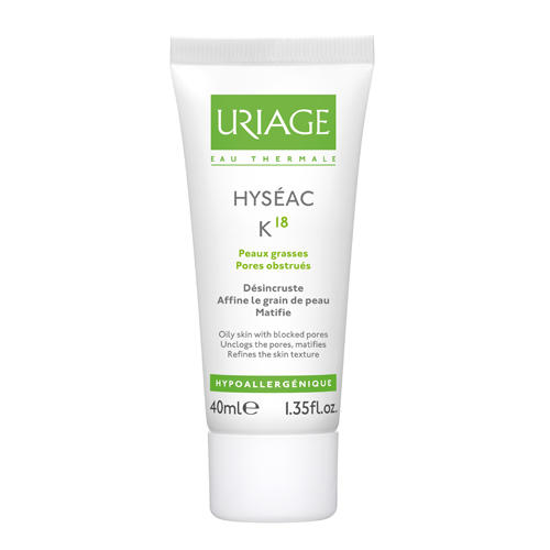 Uriage Исеак Эмульсия К18, 40 мл (Uriage, Hyseac) урьяж исеак уход 40мл матирующий
