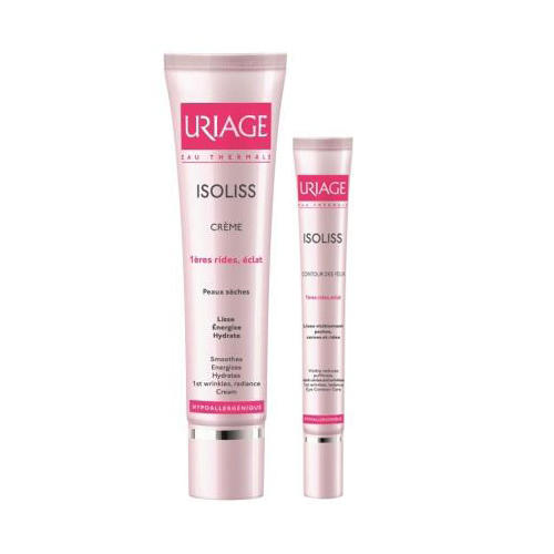 Uriage Набор Изолис Крем 40 мл + Изолис крем для кожи вокруг глаз 15 мл (Isoliss)