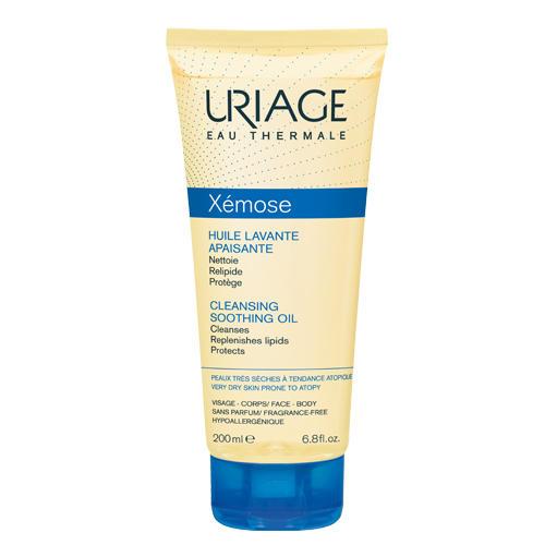 Uriage Ксемоз Очищающее успокаивающее масло 200 мл (Xemose)