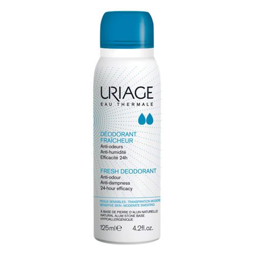 Дезодорант освежающий с квасцовым камнем спрей 125 мл (Uriage, Гигиена Uriage) дезодорант uriage tri actif купить
