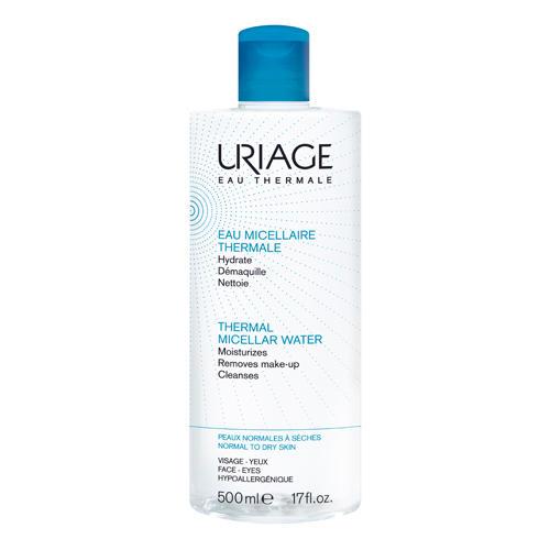 Вода Мицеллярная очищающая для нормальной и сухой кожи 500 мл (Гигиена Uriage)
