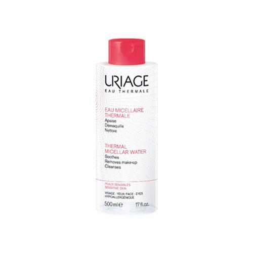 Фото - Uriage Мицеллярная Вода очищающая для чувствительной кожи 500 мл (Uriage, Гигиена Uriage) uriage мицеллярная вода очищающая для жирной и комбинированной кожи 500 мл