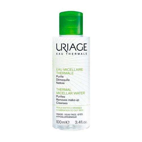 Uriage Очищающая мицеллярная вода для жирной и комбинированной кожи 100 мл (Uriage, Гигиена Uriage) очищающая мицеллярная вода для гиперчувствительной кожи 250 мл uriage гигиена uriage