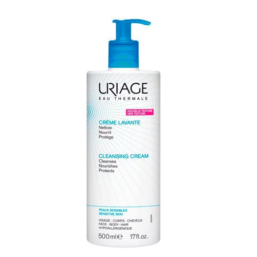 Uriage Очищающий пенящийся крем с помпой 500 мл (Uriage, Гигиена Uriage) uriage средство для снятия водостойкого макияжа с глаз 100 мл uriage гигиена uriage
