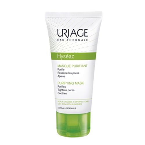 Очищающая маска для лица Исеак 50 мл (Uriage, Hyseac) ночная маска для лица uriage 50 мл увлажняющая