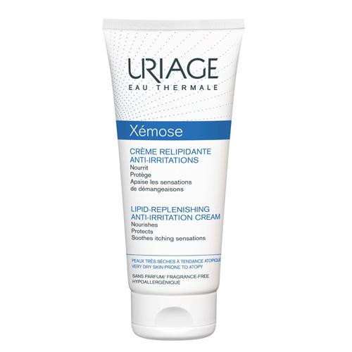 Uriage Ксемоз Крем липидовосстанавливающий, против раздражений 200 мл (Uriage, Xemose) очищающая вода урьяж