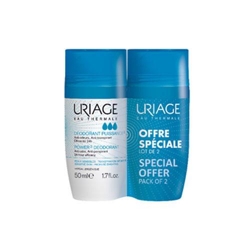 Набор Дезодорант тройной силы Ролик 2 х 50 мл (Uriage, Гигиена Uriage) uriage дезодорант отзывы