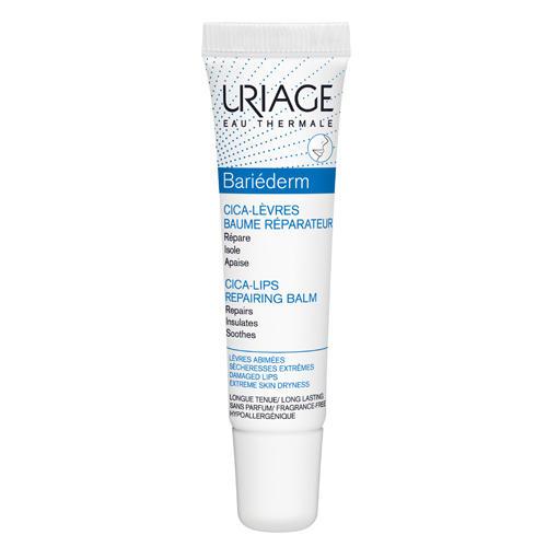 Барьедерм восстанавливающий цикабальзам для губ 15 мл (Uriage, Bariederm) бальзам для губ восстанавливающий для очень сухой кожи губ 12 г лакри уход