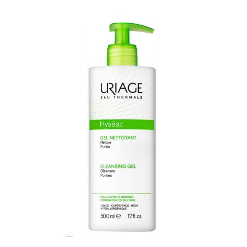 Uriage Мягкий очищающий гель Исеак 500 мл (Uriage, Hyseac) uriage мягкий очищающий пенящийся гель синдет xemose 500 мл