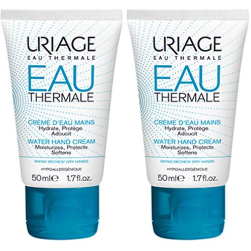 Uriage Набор ОТермаль Увлажняющий крем для рук, 50 мл х 2 шт. (Uriage, Eau thermale)