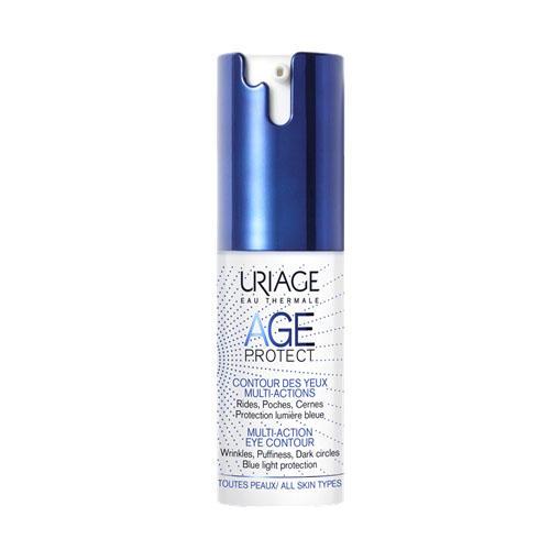 Uriage Age Protect Многофункциональный Крем для кожи контура глаз 15 мл (Uriage, Age Protect) урьяж мицеллярная вода очищающая для кожи склонной к покраснению 250 мл uriage гигиена uriage