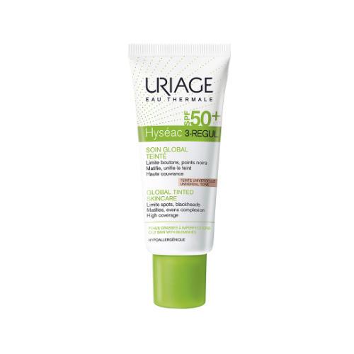 Uriage Исеак 3-Regul Универсальный тональный уход SPF 50, 40 мл (Uriage, Hyseac) uriage hyseac gel