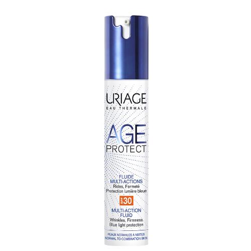 Uriage Эйдж Протект Многофункциональная дневная эмульсия SPF30, 40 мл (Uriage, Age Protect) uriage age protect сыворотка интенсивная многофункциональная 30 мл