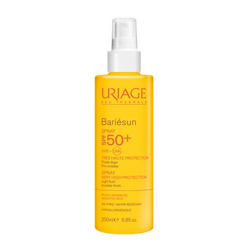 Барьесан Спрей SPF50, 200 мл (Uriage, Bariesun) uriage bariesun fragrance free spray spf50 спрей без ароматизаторов 200 мл