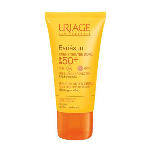 Uriage Барьесан Тональный крем SPF 50+ золотистый 50 мл (Uriage, Bariesun) uriage 50 spf