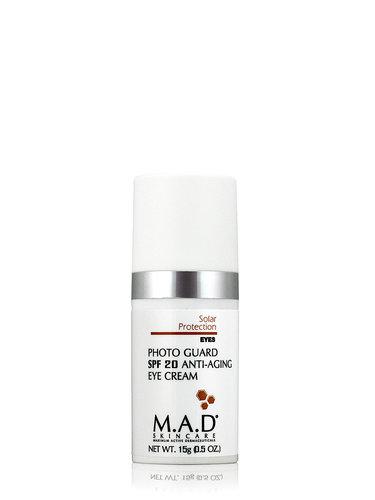 Купить M.A.D. Антивозрастной крем для глаз с защитой spf 20, 15 гр (M.A.D., Sun Protection)
