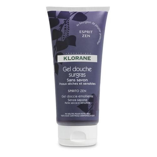 Klorane Увлажняющий гель для душа Дзен 200 мл (Dermo-protection)