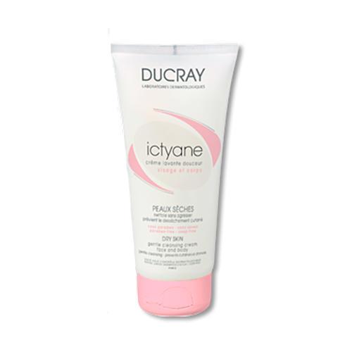 Ducray Итикан Нежный очищающий крем для лица и тела 200 мл (Сухая кожа)