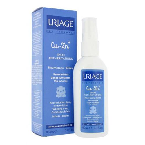 Uriage Cu-Zn спрей со смектитом 100 мл (Uriage, Детская гамма)