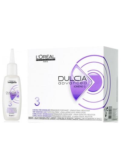Loreal Professionnel Dulcia Edvance для очень чувствительных волос №3, 75 мл (Loreal Professionnel, Завивка и разглаживание)