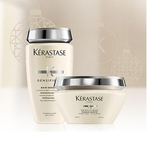 Набор Денсифик ШампуньВанна 250 мл Маска для восстановления волос 200 (Kerastase, Densifique)