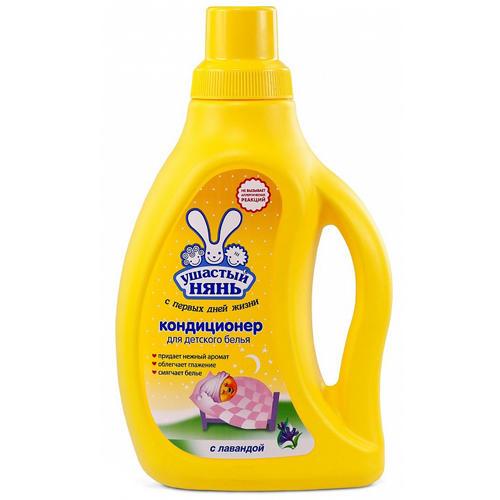 Ушастый нянь Кондиционер для детского белья Сладкий сон 750 мл (Средства для стирки для детей)