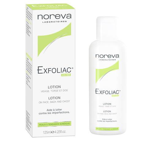 Noreva - Merck Эксфолиак лосьон с высокой концентрацией АНА и ВНА 125 мл (Exfoliac)