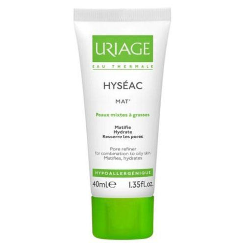 Исеак матирующий уход 40 мл (Uriage, Hyseac) цены