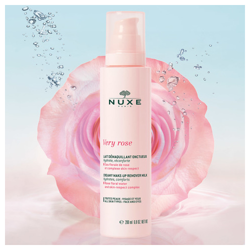Купить Nuxe Молочко для снятия макияжа для лица и кожи вокруг глаз 200мл (Nuxe, Very Rose), Франция