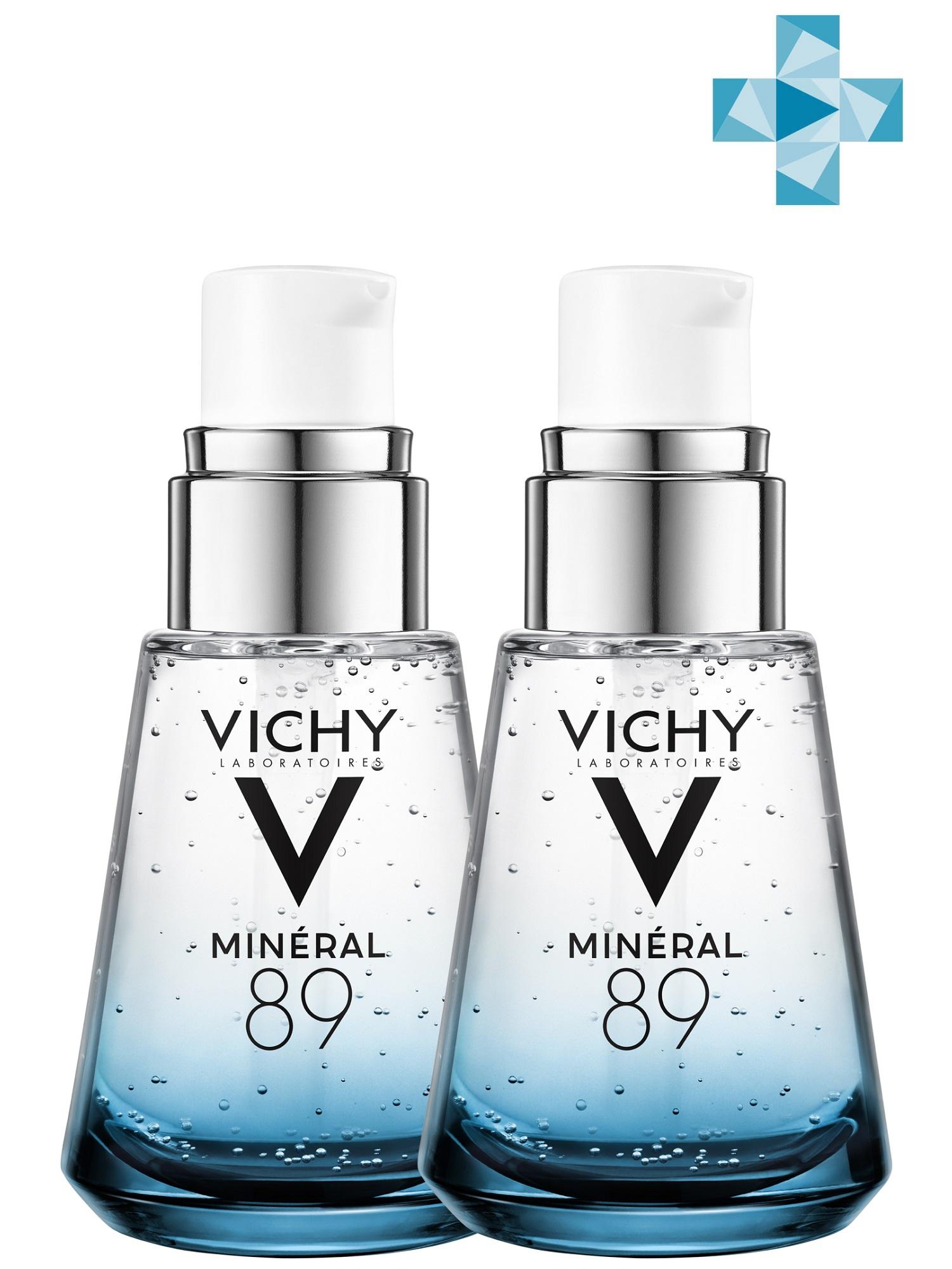Купить Vichy Комплект Гель-сыворотка для всех типов кожи, 2х30 мл (Vichy, Mineral 89), Франция