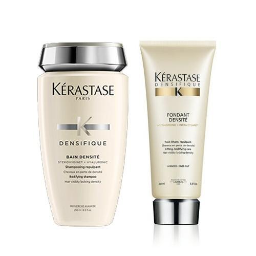 Купить Kerastase Комплект Денсифик Шампунь-Ванна для уплотнения волос, 250мл+Молочко, 200мл (Kerastase, Densifique), Франция