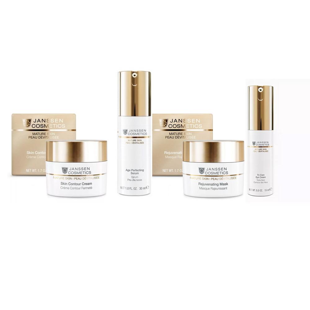 Janssen Cosmetics Набор Система управления возрастом, 4 продукта (Janssen Cosmetics, Mature Skin)