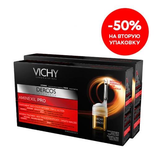 ������ ����������� �������� ������ ��������� ����� ��� ������ ��������� Pro 2�18 ����� (Dercos Aminexil) (Vichy)