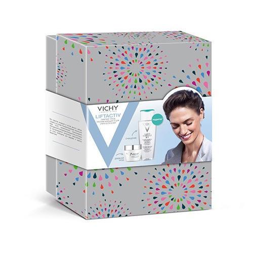 Набор Лифтактив Супрем: Дневной крем 50 мл + Мицеллярный лосьон 200 мл (Liftactiv) (Vichy)