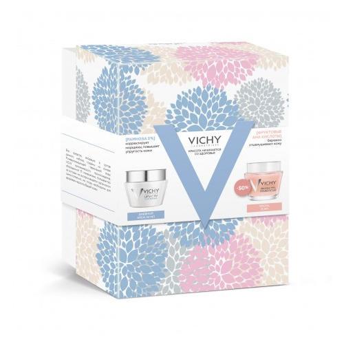 Набор Лифактив Дневной крем для нормальной кожи 50 мл Минеральная маскапилинг 75 (Vichy, Liftactiv)
