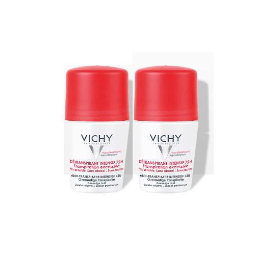 Дуопак Дезодорантантистресс 72 часа защиты 2 х 50 мл (Vichy, Deodorant)