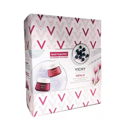 Купить Vichy Набор Идеалия: Дневной крем-уход для нормальной и комбинированной кожи 50 мл + Ночной Восстанавливающий уход 50 мл (Vichy, Idealia), Франция