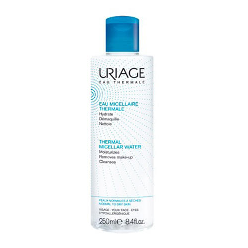 Урьяж Вода Мицеллярная очищающая для нормальной и сухой кожи 250 мл (Uriage, Гигиена Uriage) uriage мицеллярная вода очищающая для нормальной и сухой кожи 500 мл