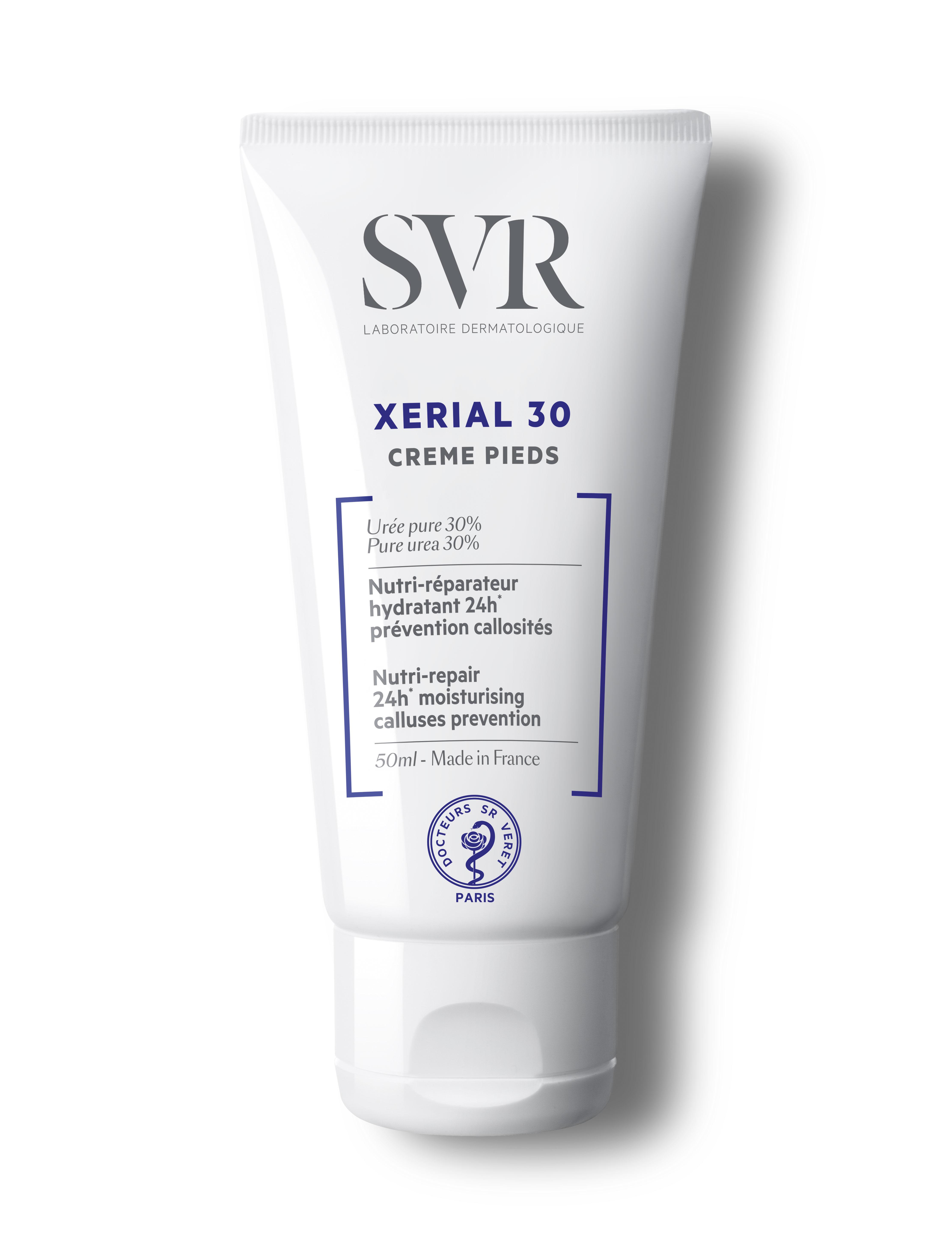 SVR Ксериал 30 Крем для ног 50 мл (SVR, Xerial) svr xerial 50 крем для ног экстрем сдвойка 2х50 мл