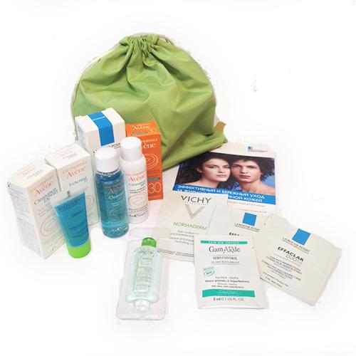 Бьютибокс для жирной проблемной кожи () авен очищающий гель