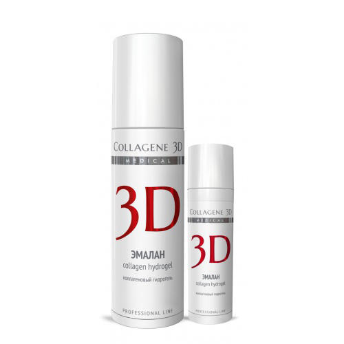 Collagene 3D Гидрогель коллагеновый с аллантоином, димексидом 130 мл (Эмалан)
