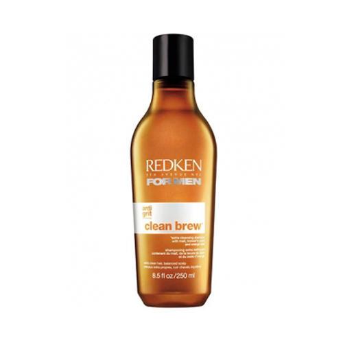 Редкен Клин Брю Oчищающий шампунь для ежедневного применения с солодом и пивными дрожжами 250 мл (Redken, For Men) редкен стайлинги