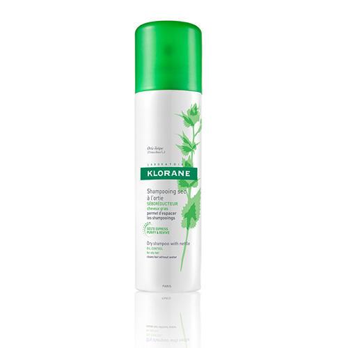 Сухой шампунь с экстрактом крапивы 150мл (Oily Prone Hair) (Klorane)