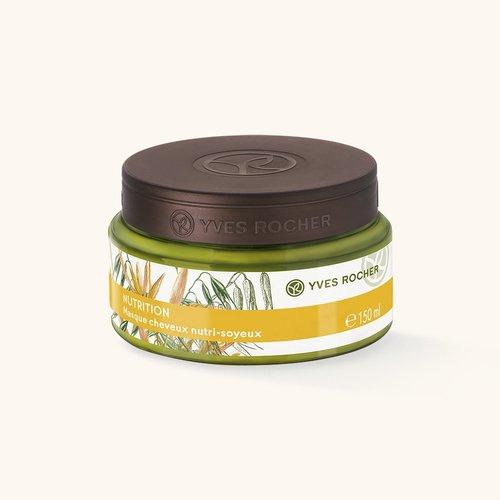 ЭкспрессМаска для Питания с Овсом и Каритэ 150 мл (Yves Rocher, Для волос) yves rocher yves rocher увлажняющий мусс замедляющий рост волос
