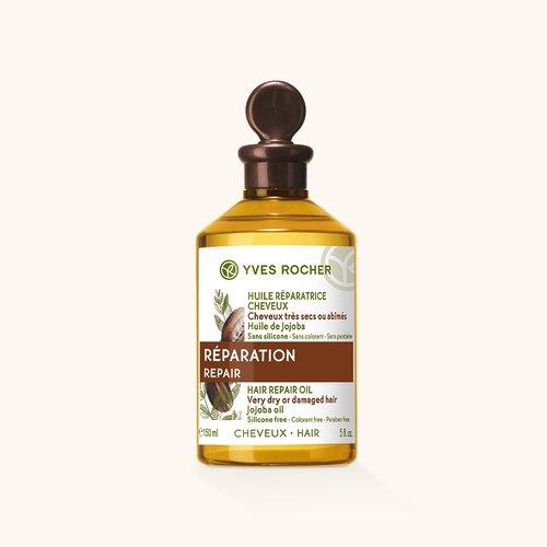 Yves Rocher Масло для Восстановления с Бабассу, Жожоба и Макадамией 150 мл (Yves Rocher, Для волос) yves rocher масло для восстановления с бабассу жожоба и макадамией 150 мл yves rocher для волос