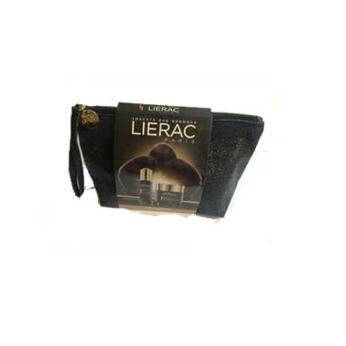 Набор Премиум минимоделей в косметичке (крем 15 млсыворотка 8 млкрем дглаз 3 мл) (Lierac, Premium) крем лиерак цена